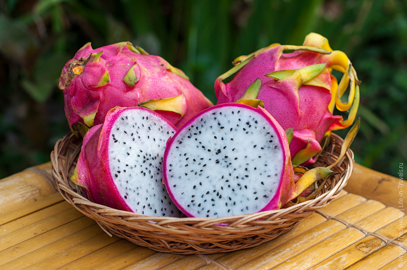 Драконов фрукт или Драгон фрут (Dragon fruit), он же Питайя или Питахайя