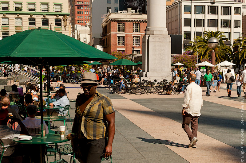 площадь Union Square