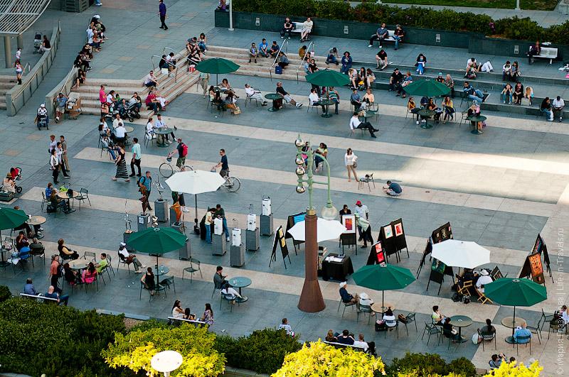 Вид на Union Square