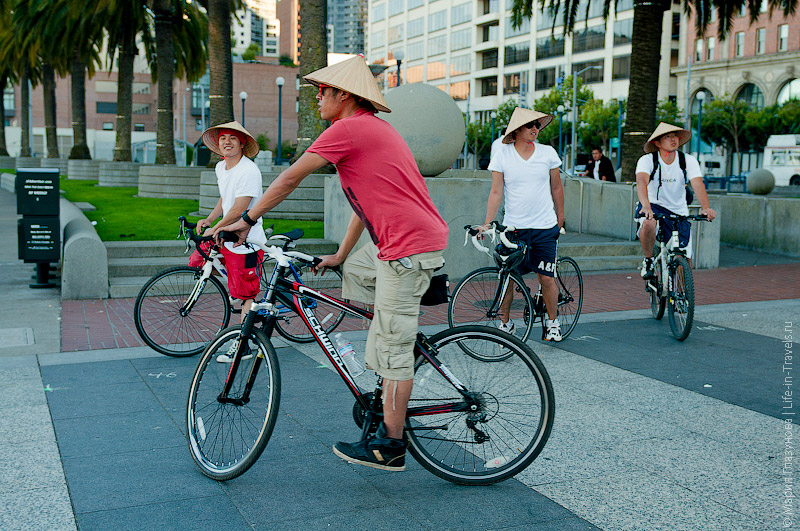 Туристы на велосипедах