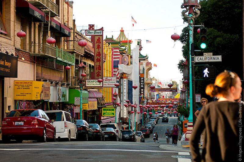 Китайский квартал в Сан-Франциско