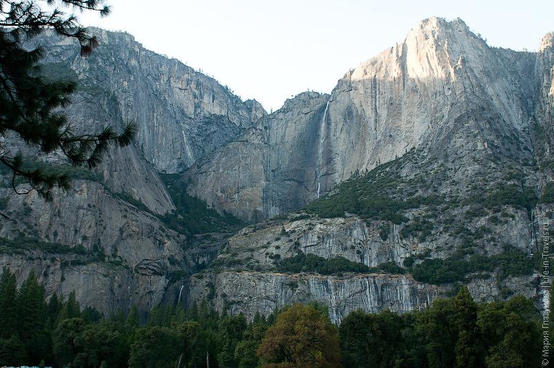 Горы в Йосемити