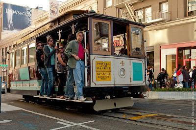 Сан-Франциско - фото знаменитых кабельных трамваев