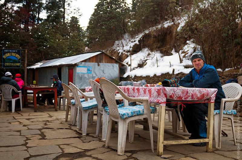 Чайный домик в Непале