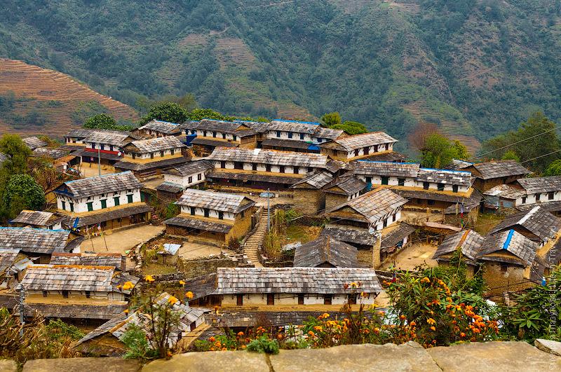 Непальская деревушка