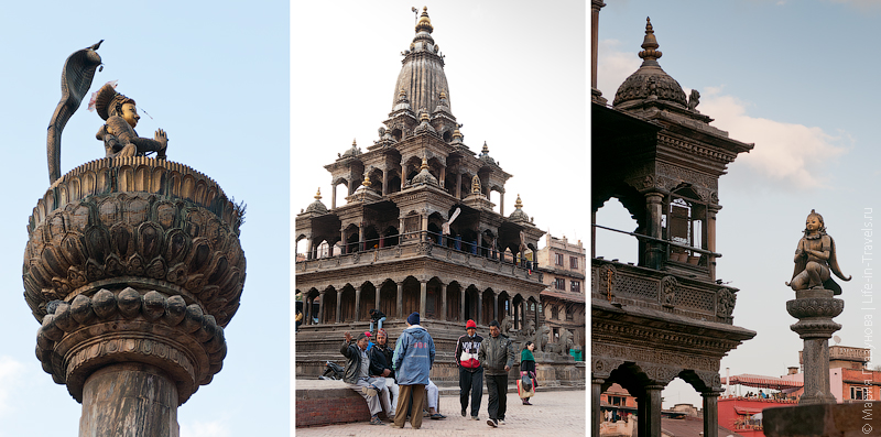 Площадь Дурбар в Патане