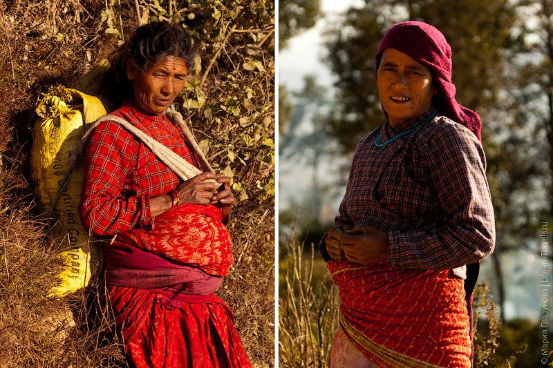 Непальские бабушки