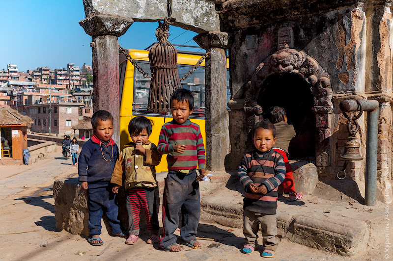 Непальская ребетня