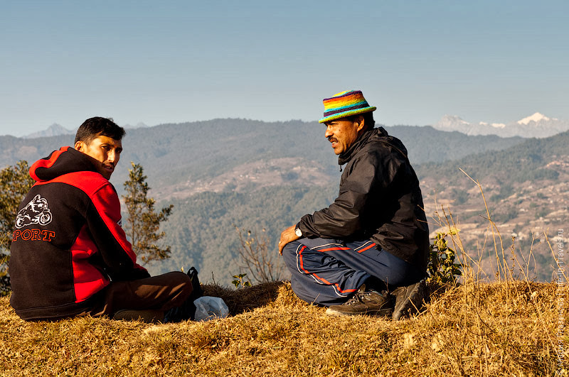 Непальцы на привале