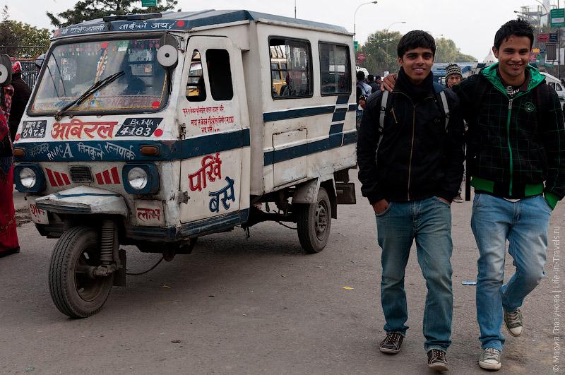 Непальская маршрутка