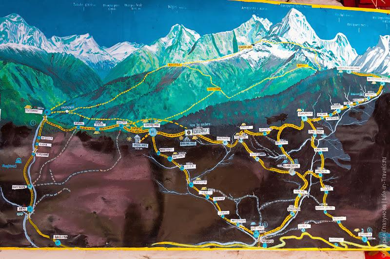 Треккинги в Непале