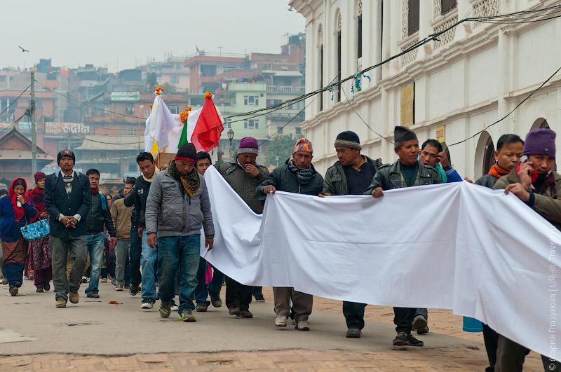Кремация в Непале