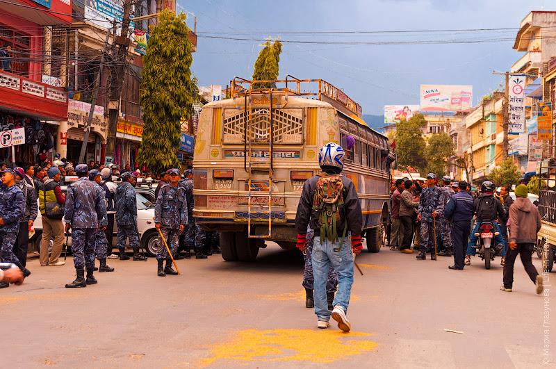 Волнения в Покхаре