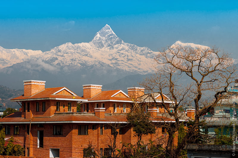 Непальские коттеджи