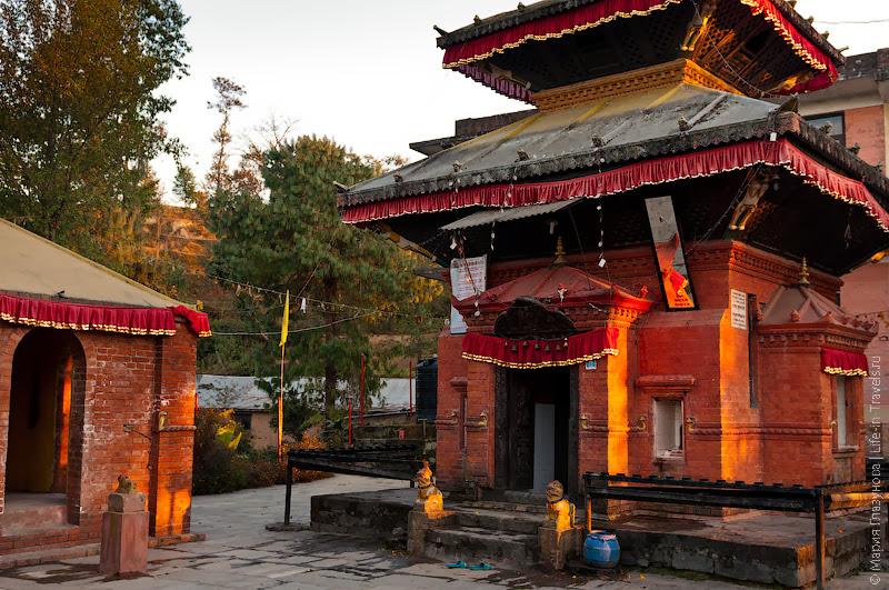 Храм в Непале