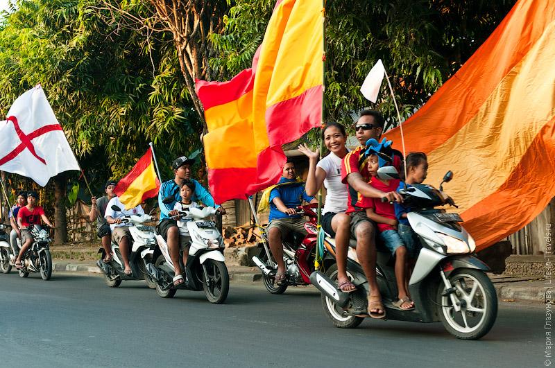 Мотоциклы на Бали