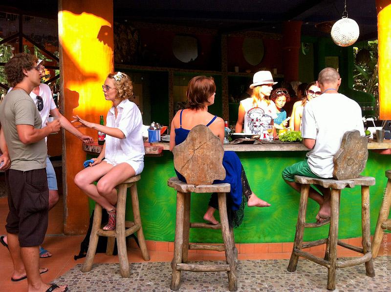 Русская вечеринка на Бали