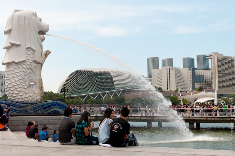 Мерлион – символ Сингапура