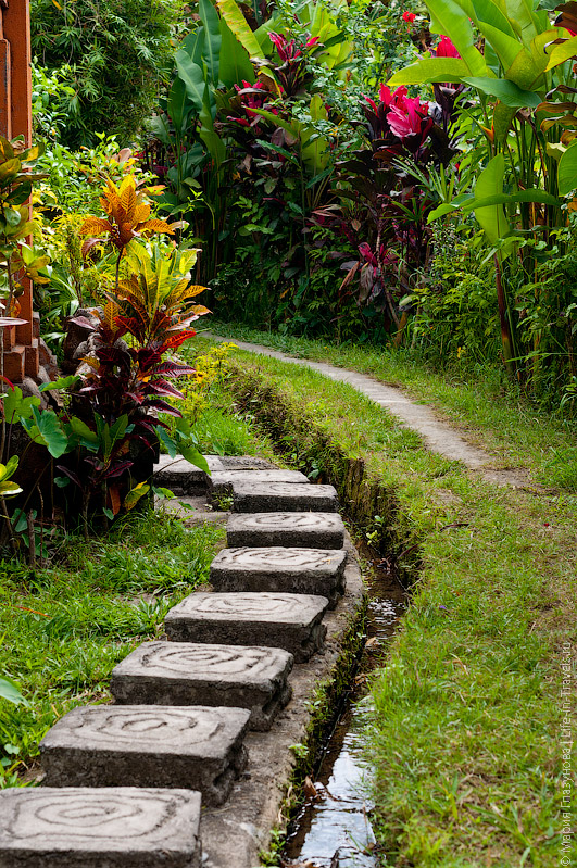 Пешеходные маршруты, Убуд, Бали