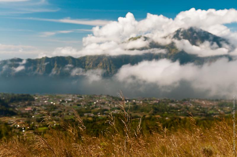 Бали - озеро Батур, вулкан Агунг, гора Абанг