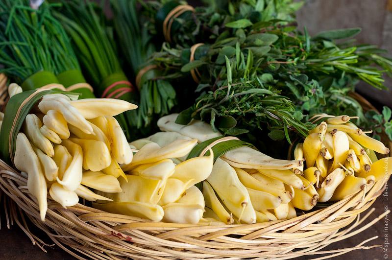 Овощи с органических ферм