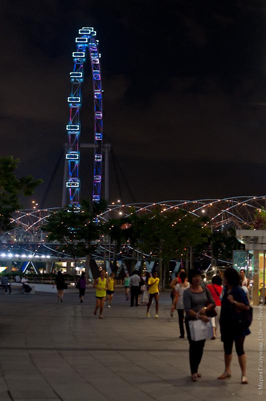 Самое большое колесо обозрения в мире Singapore Flyer