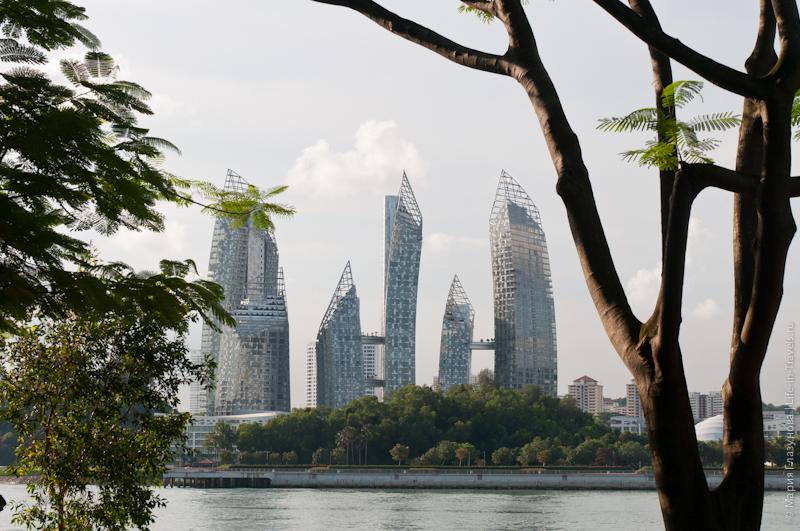 Квартал миллионеров Keppel Bay в Сингапуре