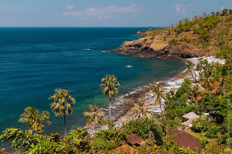 Вулканические пляжи Бали