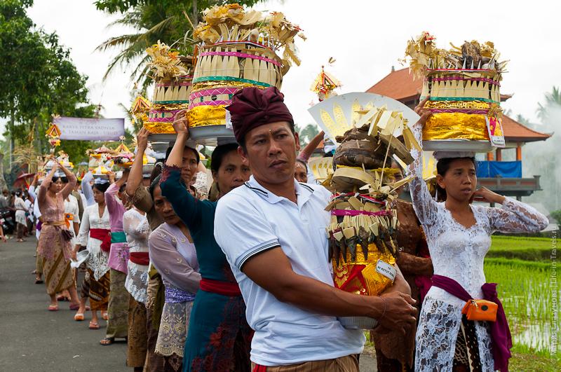 Праздничные церемонии, Убуд, Бали