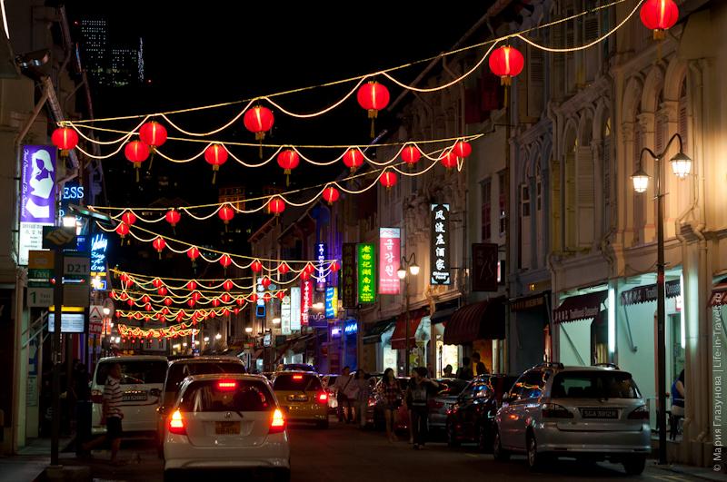 Китайский квартал (Chainatown) в Сингапуре