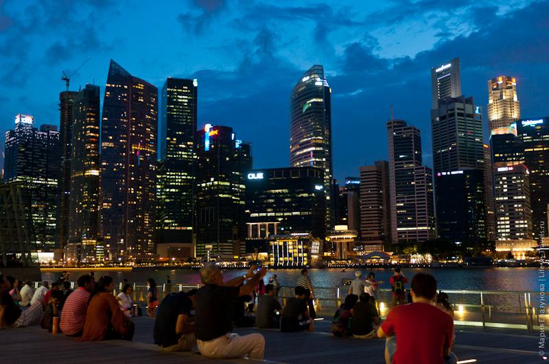 Небоскрёбы Сингапура
