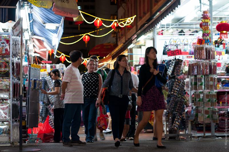 Торговая улица в Китайском квартале