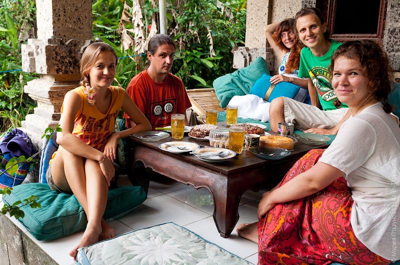Русские на Бали