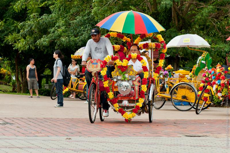 Туристические вело-рикши