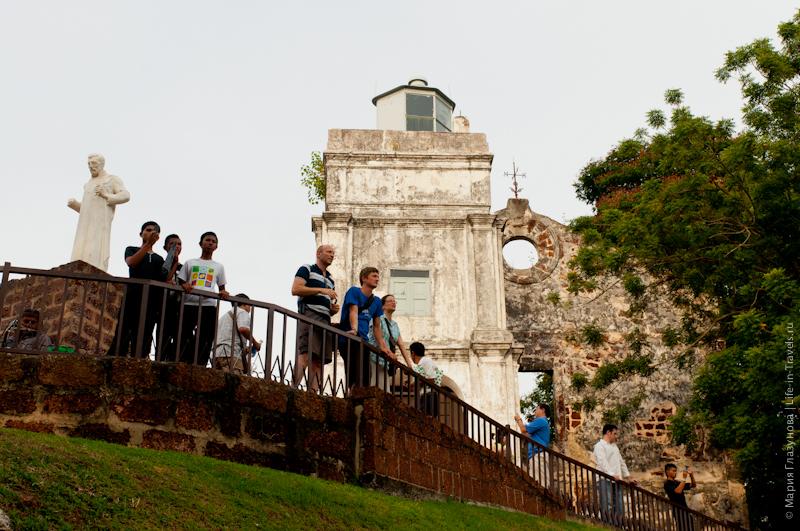 Руины церкви Св. Павла