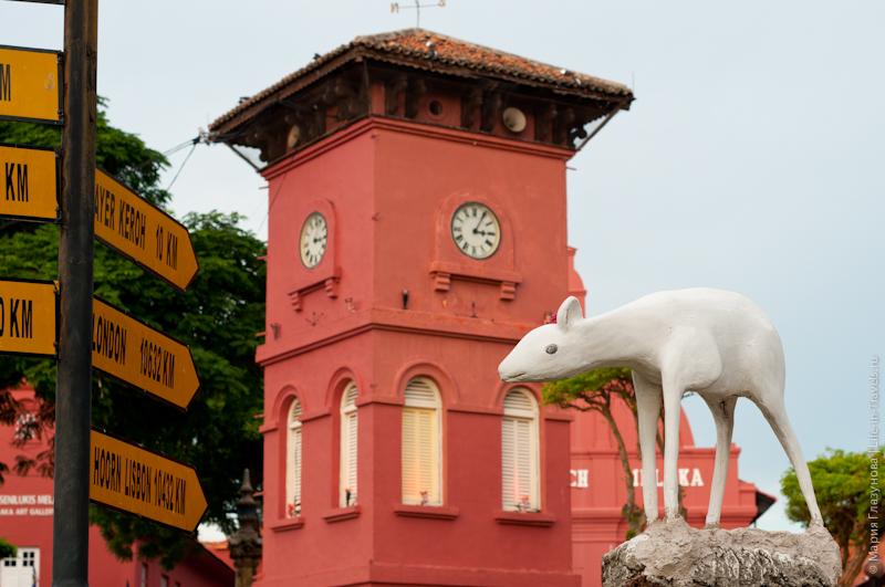 Часы на красной площади