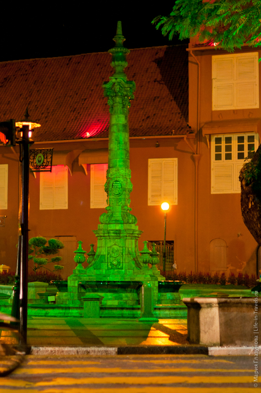 Вечерняя Голландская площадь