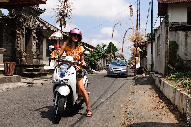 Scoopy на Бали