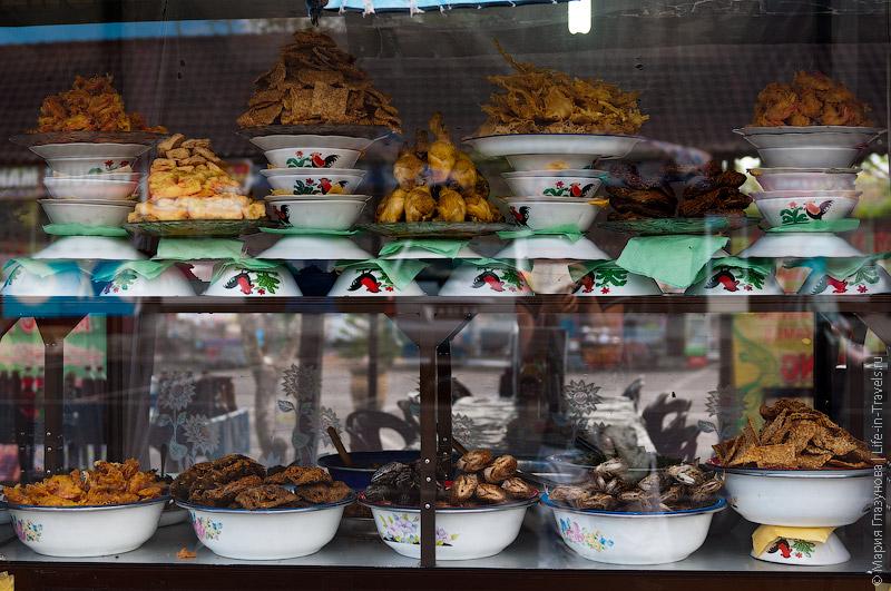 Выбор еды в варунге