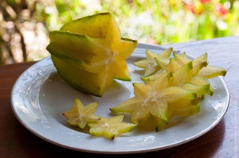 Карамбола (Carambola) или «Звездный» фрукт