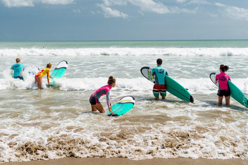 Пляж Кута (Kuta Beach), Бали