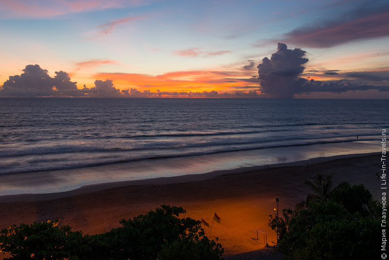 Пляж Семиньяк (Seminyak Beach), Бали