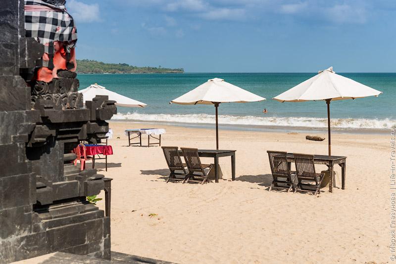 Пляж Джимбаран (Jimbaran beach), Бали