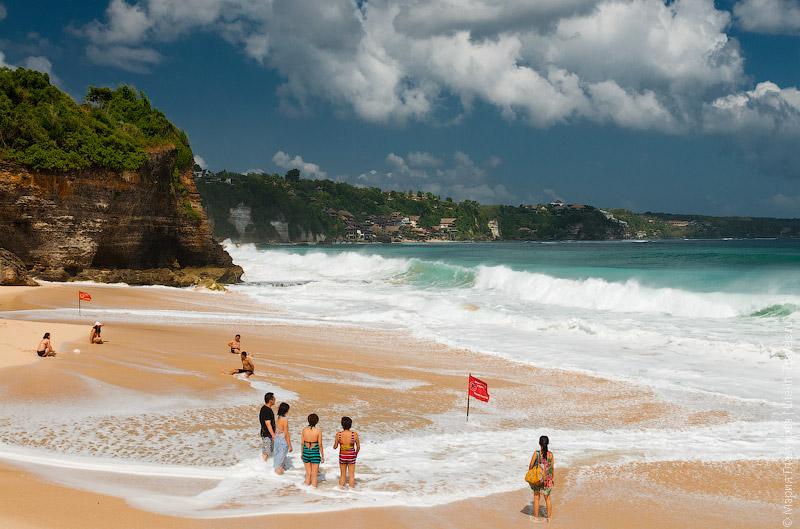 Dreamland beach, Bukit, Bali