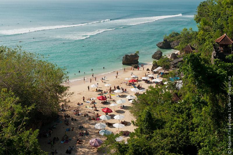 Пляж Паданг-Паданг (Padang Padang beach)