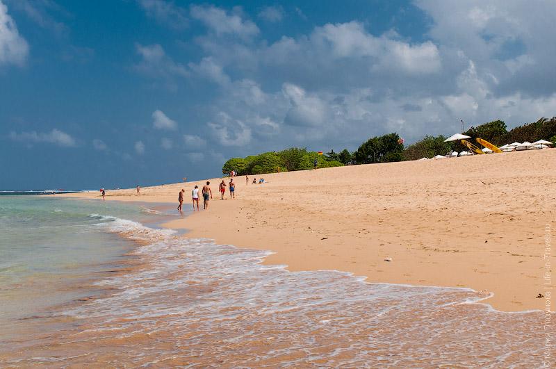 Пляж Нуса-Дуа, Букит, Бали
