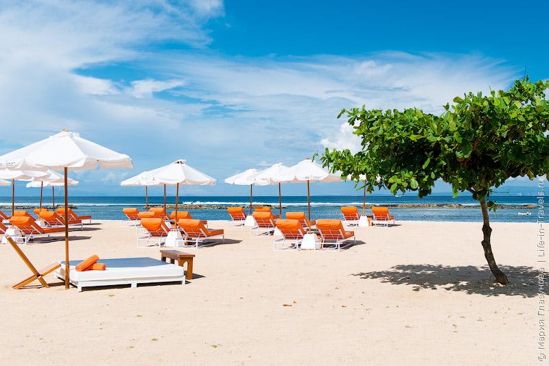 Пляж Нуса-Дуа (Nusa Dua Beach)
