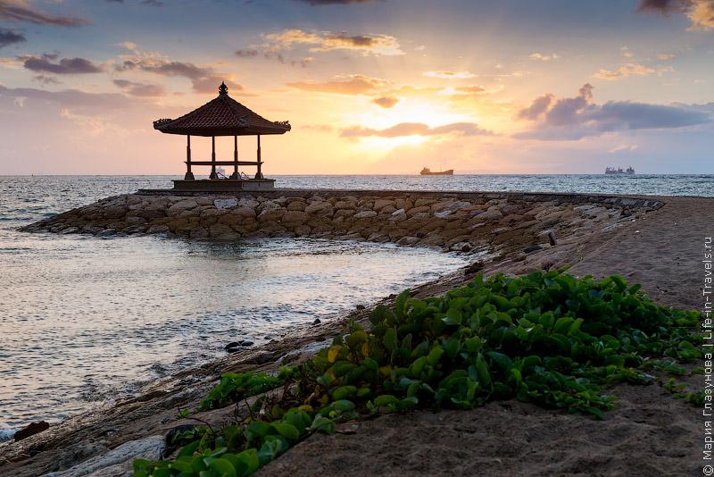 Пляж Танджунг Беноа (Tanjung Benoa)