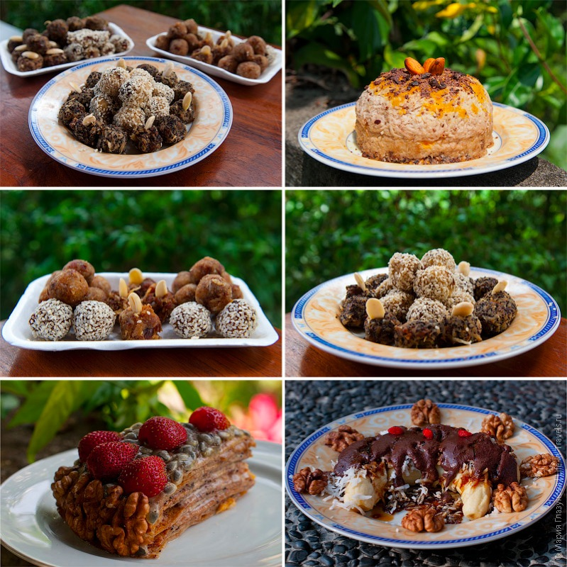 Десерты с использованием какао