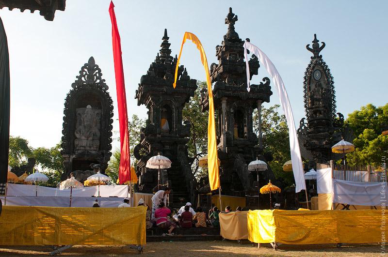 Храм в дни проведения церемонии